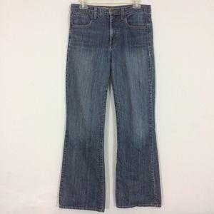 NYDJ Womens 6 Tummy Tuck Medium Wash Blue Jeans